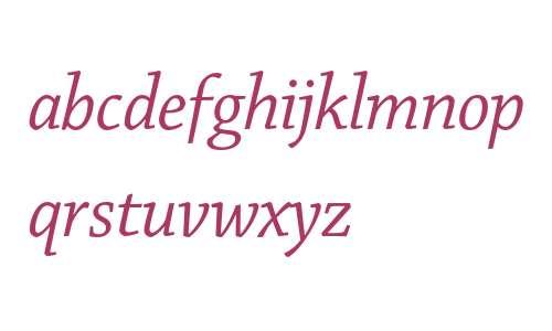 Chaparral Pro Italic Display