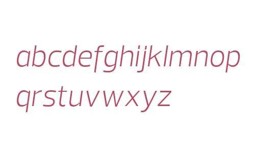 Prelo W04 Light Italic
