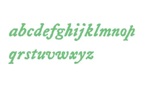 LetterpressText W00 BoldItalic