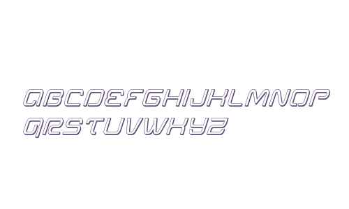 Miracle Mercury 3D Italic