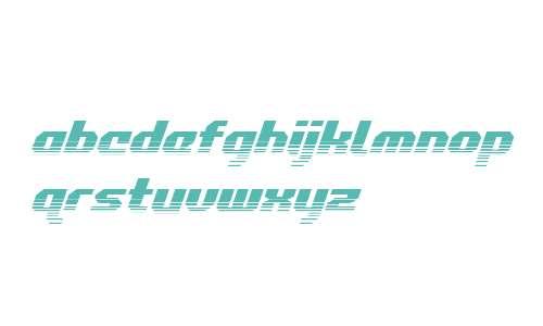 Commonwealth Halftone Italic