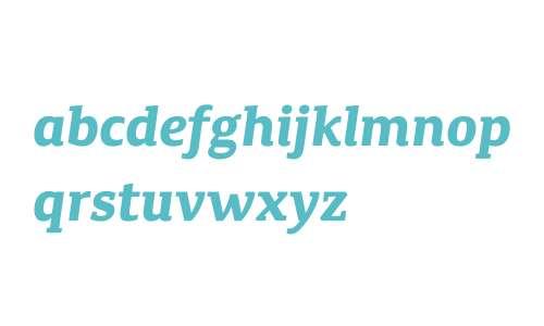 Canberra FY W01 Bold Italic