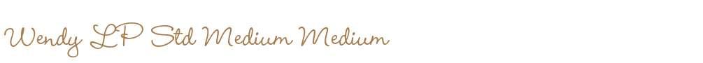Wendy LP Std Medium