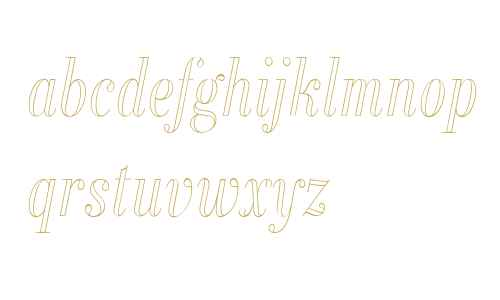 Alias Didot Outline W00 Lt It