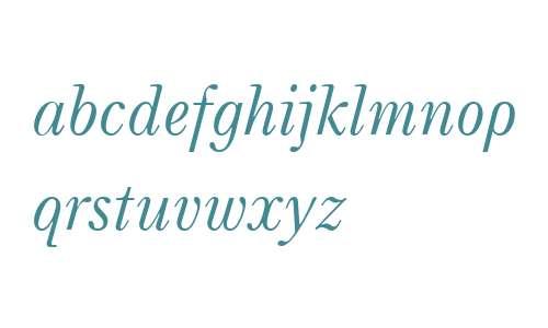 Neva W08 Italic
