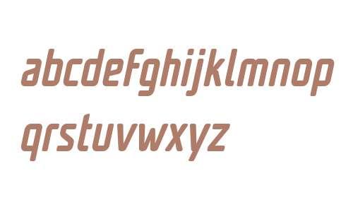 Unicod Sans W03 Cond Medium It
