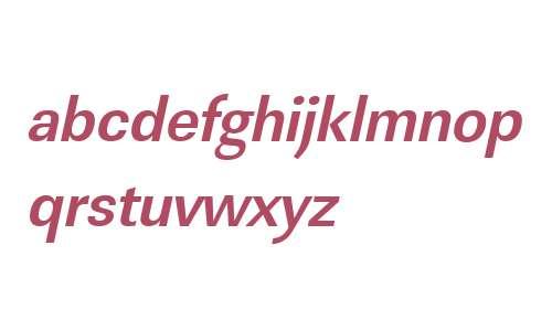 URWLinearTNar Bold Oblique