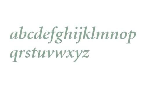 Atlantix SSi Semi Bold Italic