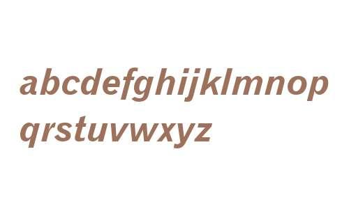 Gothic720 BT Bold Italic