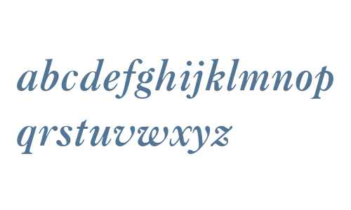 Caslon Bold W03 It