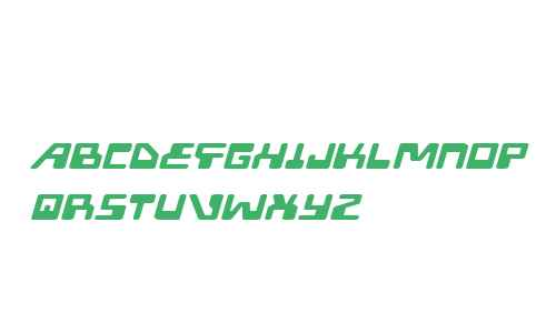 Xped Extra-Expanded Italic
