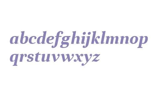 Anglecia Pro Text Bold Italic