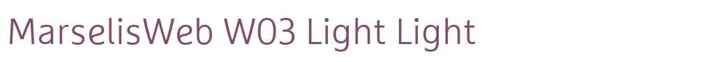 MarselisWeb W03 Light