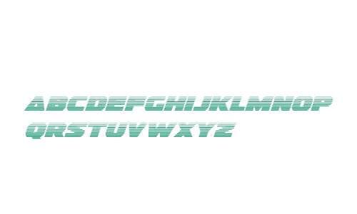 Guardian Gradient Italic