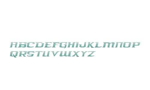 Kreature Kombat Gradient Italic