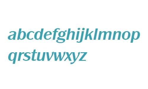 Panache ITC W04 Bold Italic