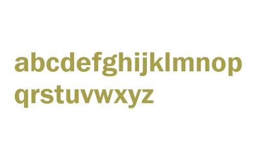 ITC Franklin Gothic Demi Cyrillic