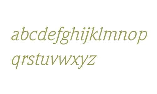 Weidemann ITC W04 Book Italic