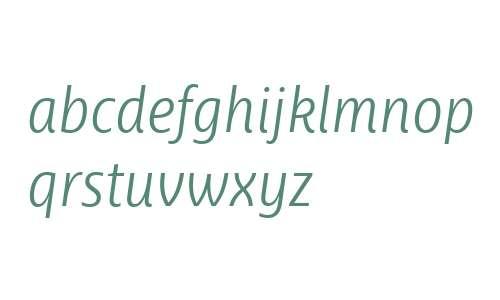 Ayita W03 Light Italic