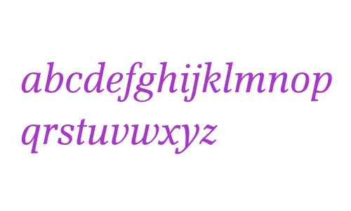 Scherzo Std Italic