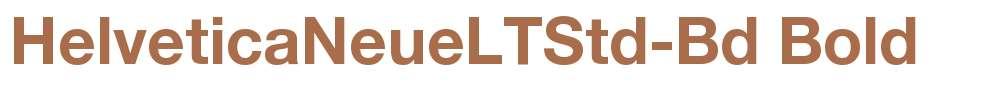 HelveticaNeueLTStd-Bd