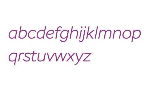 Stem Light Italic