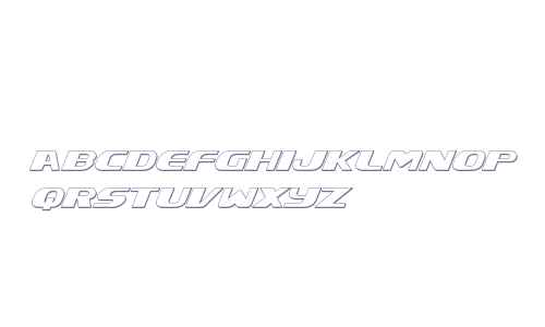 Xcelsion 3D Italic Italic