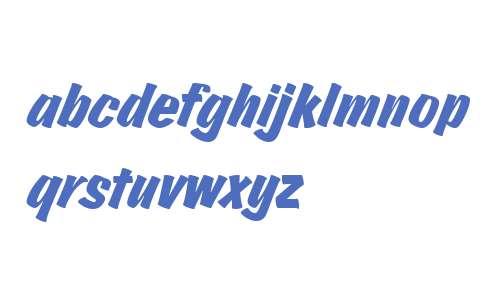 Josephs Brush Pro Italic