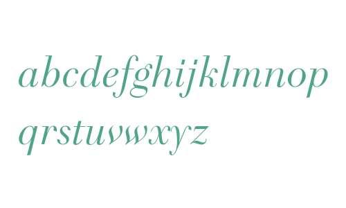 Telemaque FY W03 Italic