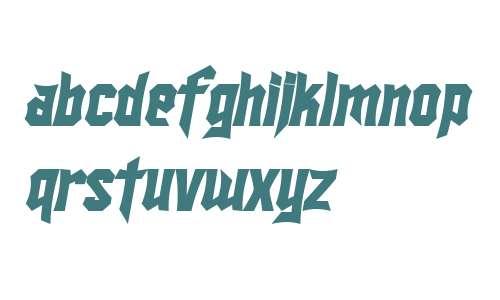 SF Ironsides Bold Italic V2 V1