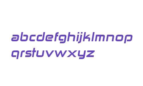Zekton ExHv Italic