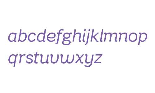 Bright Grotesk Book Italic