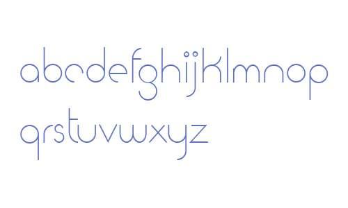 Cattia Demo font