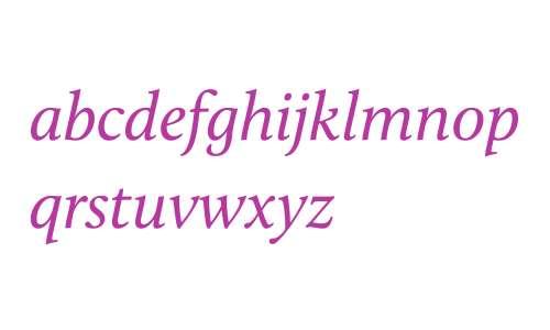 Calluna W03 Italic