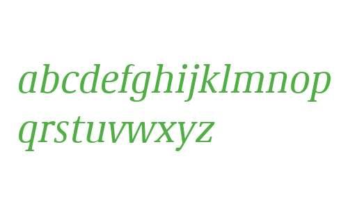 Demos W04 Italic