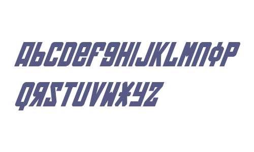 Soviet Bold Italic V2