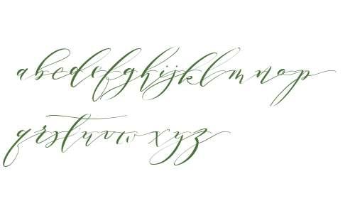 Melika Letter D