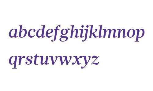 Glosa W01 Medium Italic