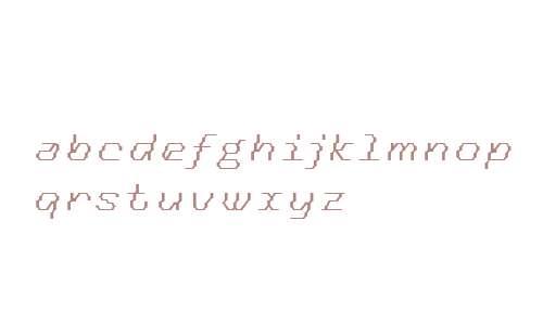 Tronic OT W03 Italic