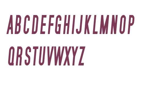 SF Movie Poster Condensed Bold Italic V2