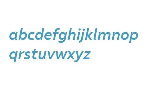 Malva W03 Medium Italic