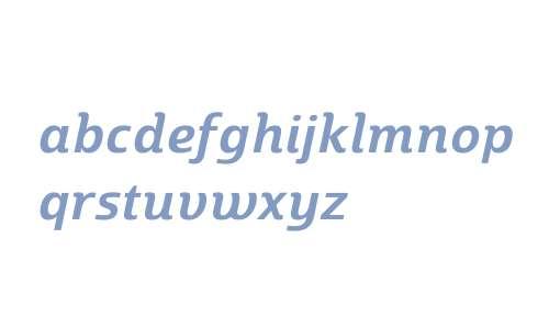 Marintas W01 SemiBold Italic