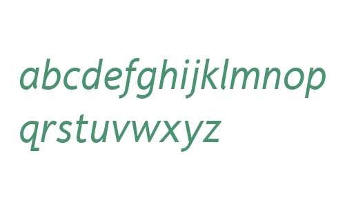 Fiendstar W01 Italic