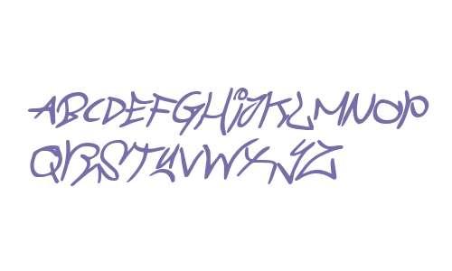 Graffiti Street Bold Italic