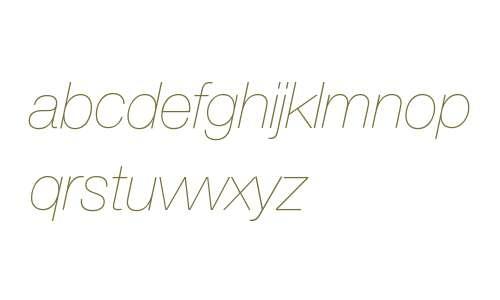 HelveticaNeueLTStd-UltLtIt
