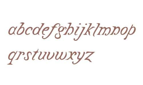 Castine W04 Italic