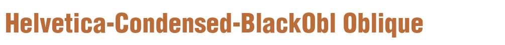 Helvetica-Condensed-BlackObl