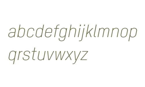 TSTAR PRO W00 Light Italic