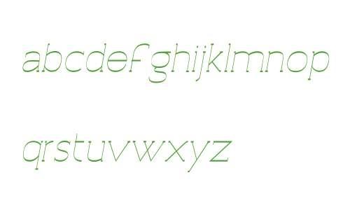 Archivio Italic W Slab Inverted