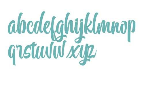 Calling Font Italic
